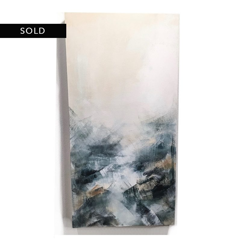 original abstract painting called California awaiting by artist BRITTANY CLIFFORD