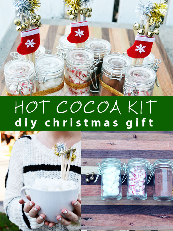 hot cocoa kit diy christmas gift for hot chocolate presents