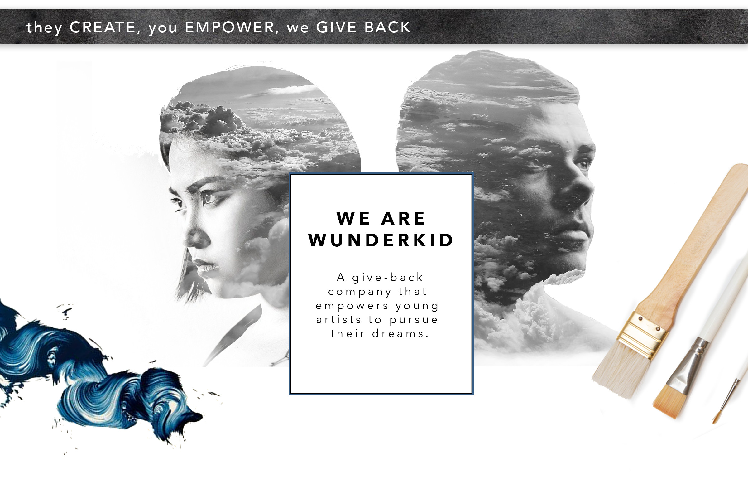 Wunderkid Sustainable Art Cards And Original Art