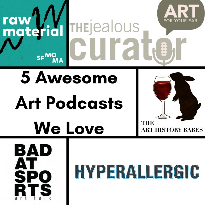 Our 5 Favorite Art Podcasts