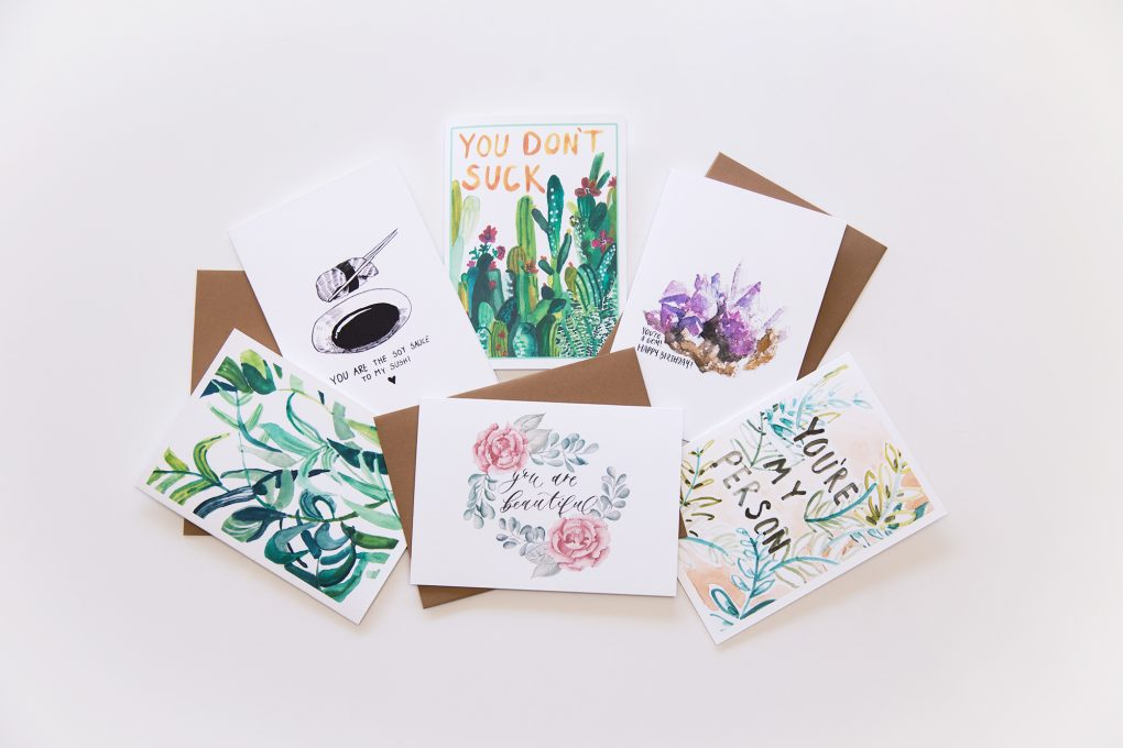 Wunderkid greeting cards